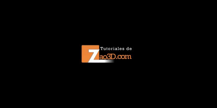 Tutoriales en Zao3d