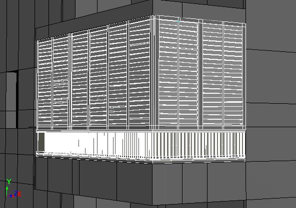 Balcones y persianas
