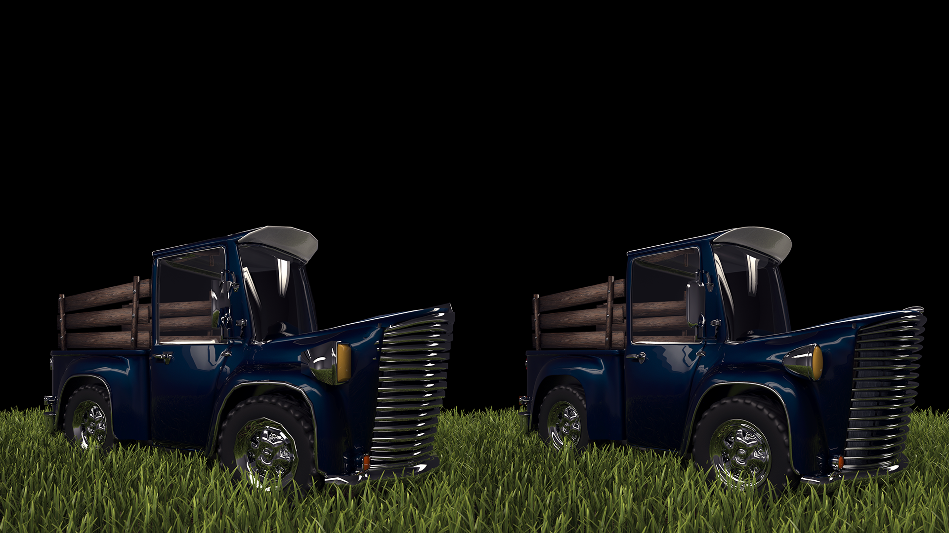 Credits : Tom Rusteberg (www.wanderplay.com) (truck model and shading) and Mihai Iliuta (render)