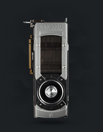GeForce GTX 770 usada en la demostración de V-Ray RT para Softimage