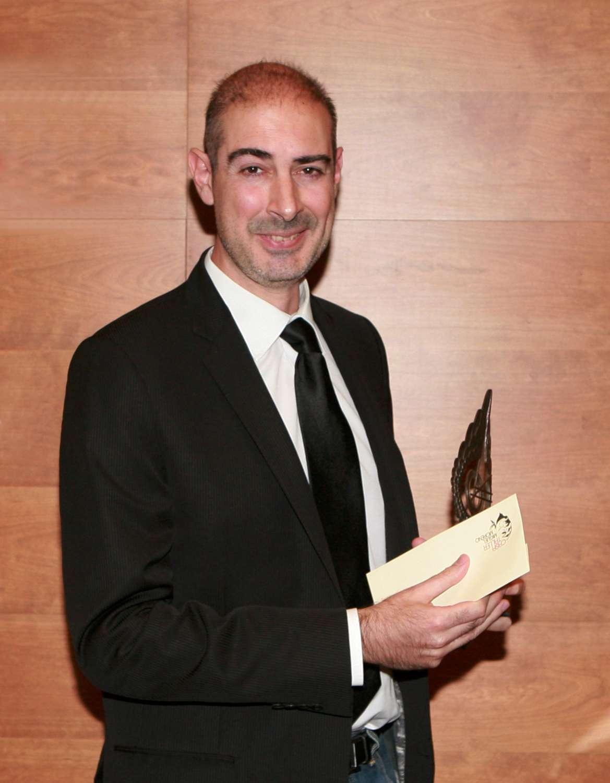 Marcos Fajardo, desarrollador de Arnold, recogió el premio SCIE