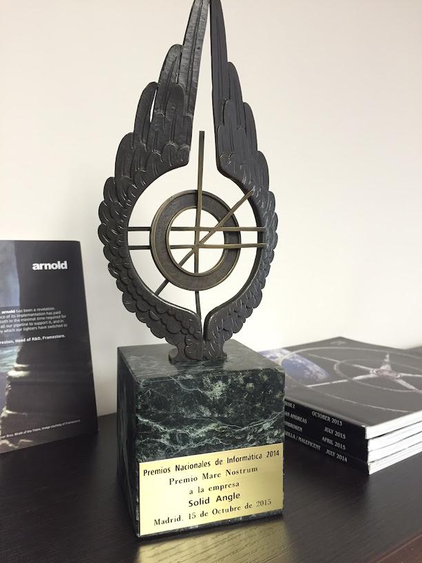 Solid Angle recibe el premio SCIE
