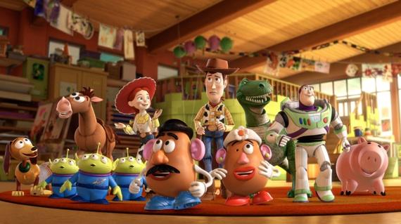 Todos los personajes de Toy Story