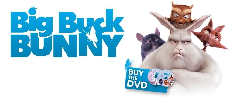 Descarga del proyecto de Big Buck Bunny