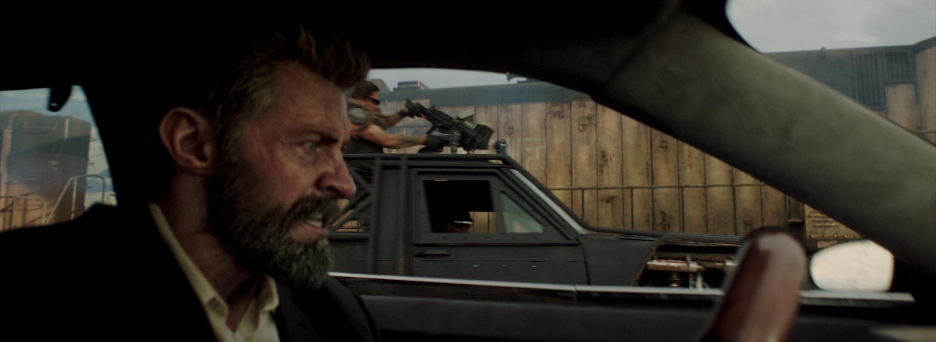 """""""Logan"""" donde se usó los shaders OSL de Arnold. Imagen de Image Engine"""