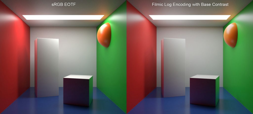 Filmic Color Management