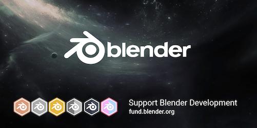 Splash screen de Blender 2.8 Beta