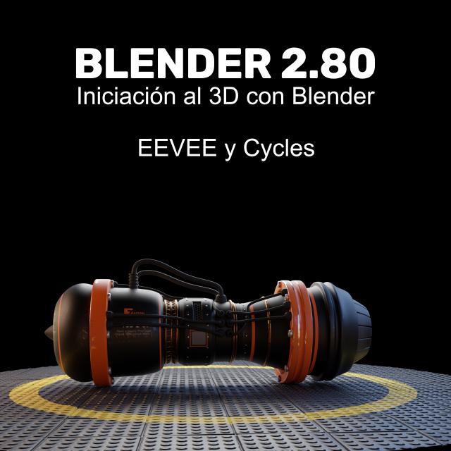 Iniciación al 3D con Blender 2.80. Curso Online de 3D en la Academia de Zao3D