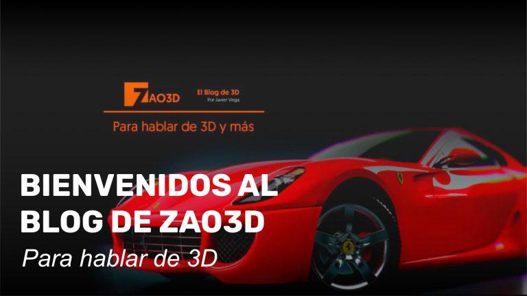 Bienvenidos al Blog de Zao3D. Para hablar de 3D