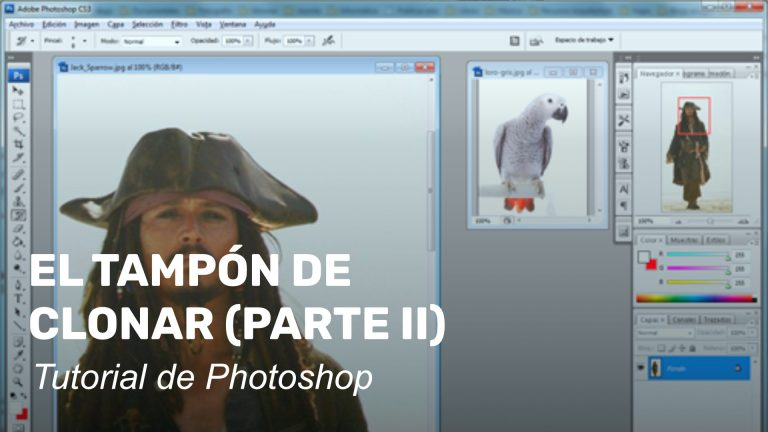 El tampón de clonar en Photoshop. Parte 2