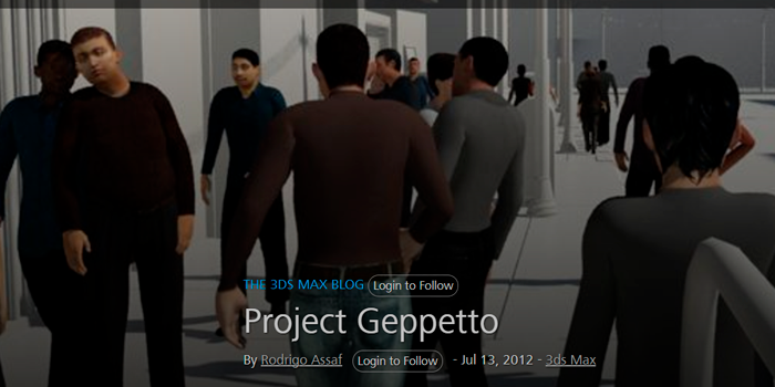 Autodesk Project Geppetto