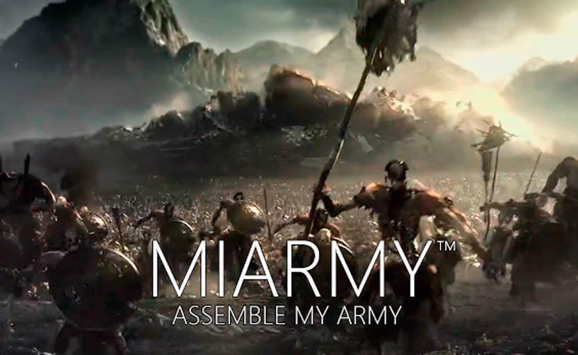 Miarmy - Crowd Simulation para Maya