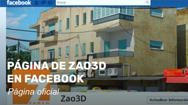 Zao3D en Facebook