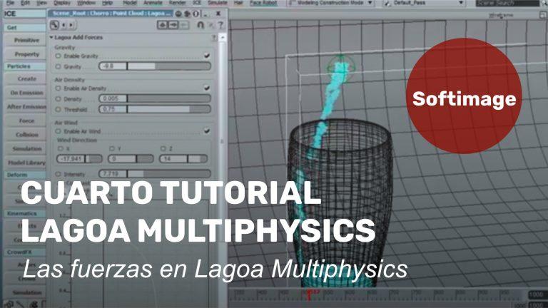 Ya está el cuarto tutorial sobre Lagoa Multiphysics - Las fuerzas