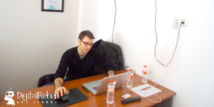 Seminario de Sergi Caballer en Digital Rebel