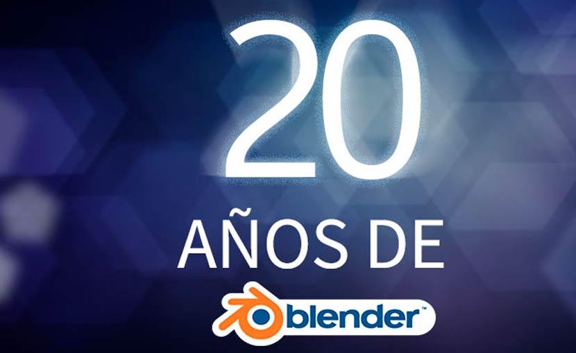 20 años de Blender