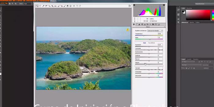 Primer módulo del curso de iniciacion a Photoshop