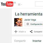 Añadir vídeos de YouTube y más sitios