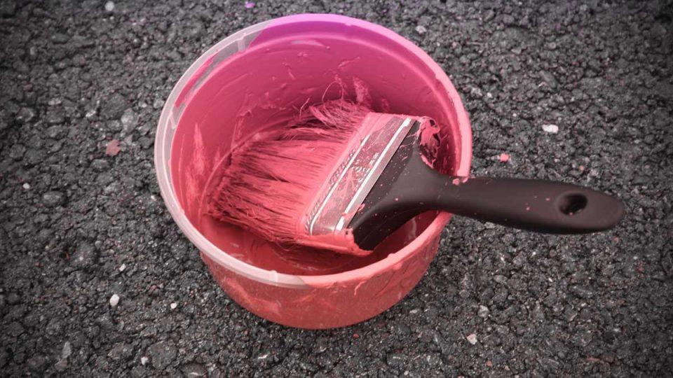 La herramienta Degradado y Bote de pintura