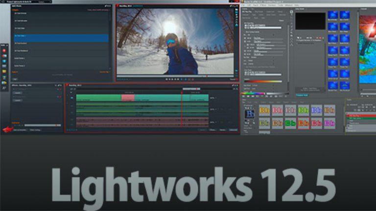 Lightworks 12.5 con Boris FX