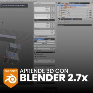 Aprende 3D con Blender 2.7x