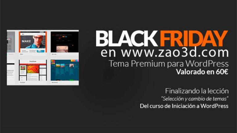 Black Friday en Zao3D