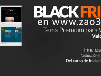 Black Friday en Zao3D