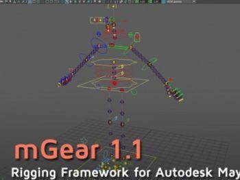 mGear 1.1, framework de rigging para Maya