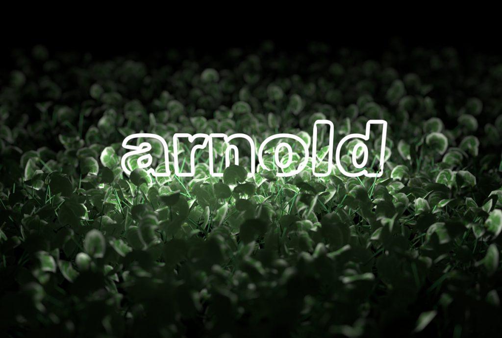 mesh light arnold plants