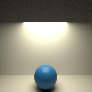 Tipos de luz en RenderMan 21. Luz Rectangular