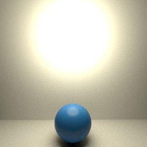 Tipos de luz en RenderMan 21. Luz esférica