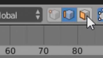 Modos de seleccion en Edit Mode