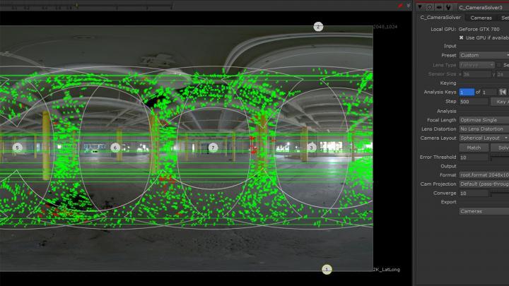 Camera Rig con Cara VR