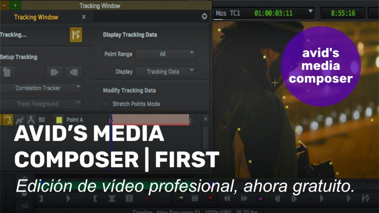 Media Composer | First, ahora gratuito