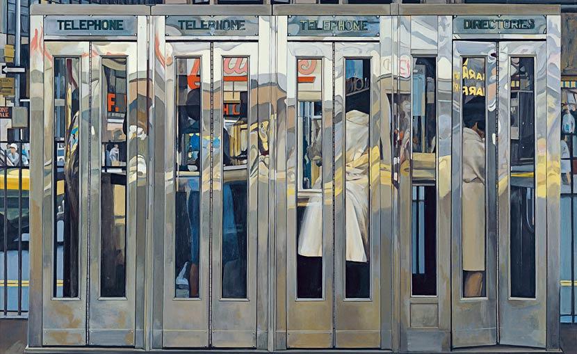 Cabinas, de Richard Estes