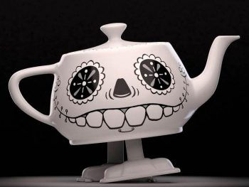 Walking Teapot for RenderMan