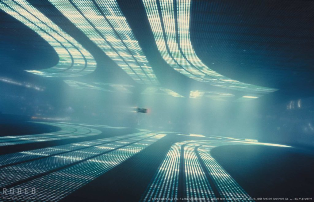 Blade Runner 2049. Logo de Atari. Arnold render