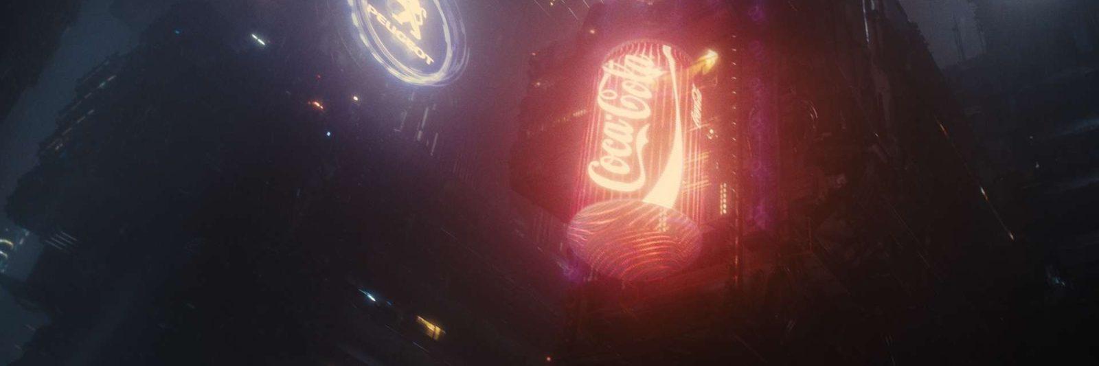 Blade Runner 2049. La ciudad de Los Ángeles. Arnold render