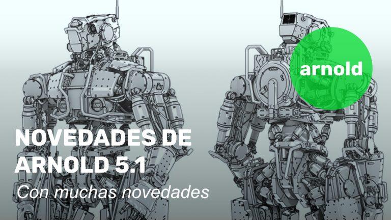 Arnold 5.1, con muchas novedades
