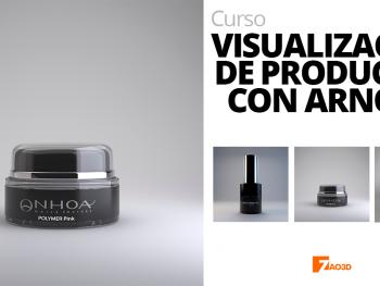 Visualización de productos con Arnold render
