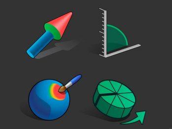 La nueva barra de herramientas en Blender 2.80