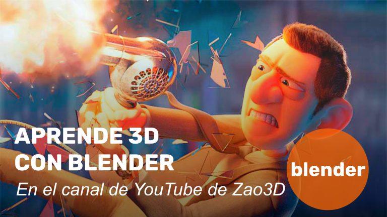 Aprende 3D con Blender en YouTube