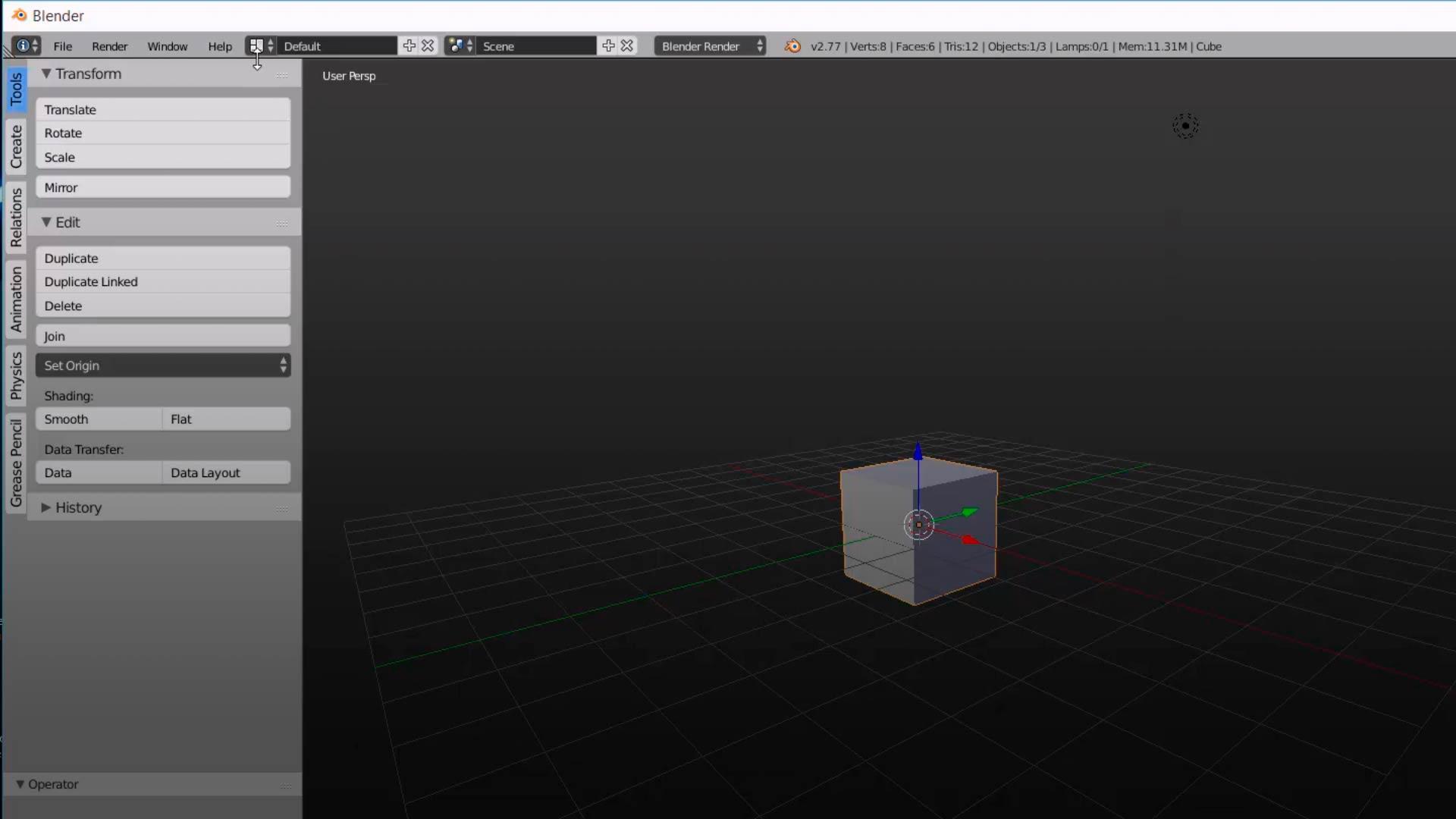 El interface de Blender (Aprende 3D con Blender)