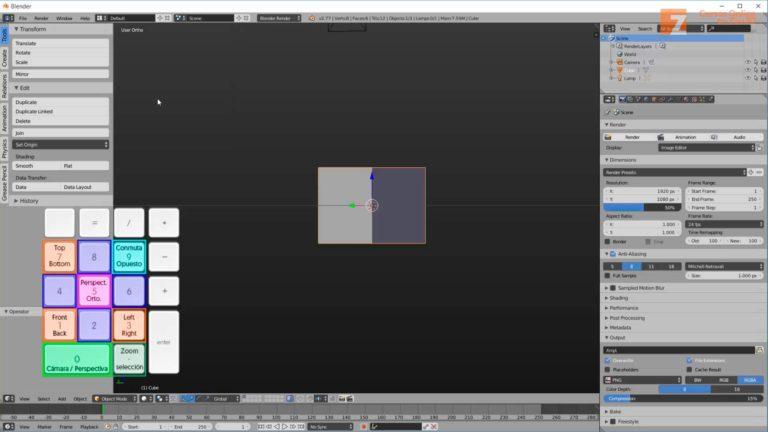 La navegación en Blender. Nueva lección del curso de Blender