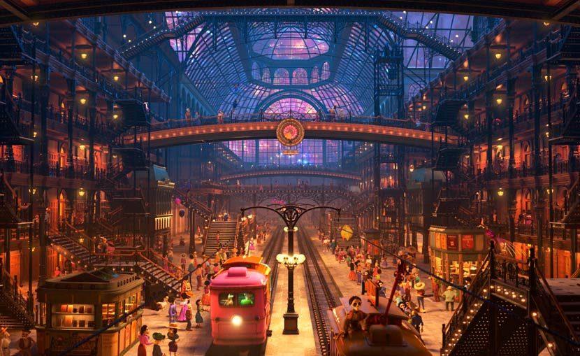RenderMan 22. Fotograma de la película Coco de Pixar