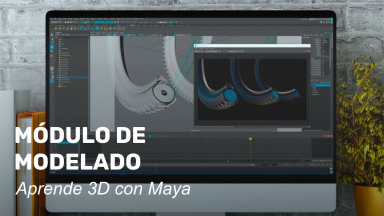 Módulo de modelado. Aprende 3D con Maya