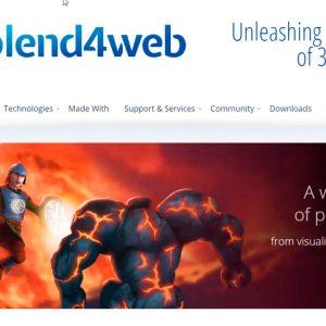 Blend4web. 3d para web en tiempo real