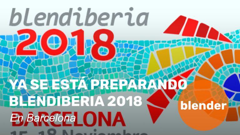 Blendiberia 2018. En Barcelona