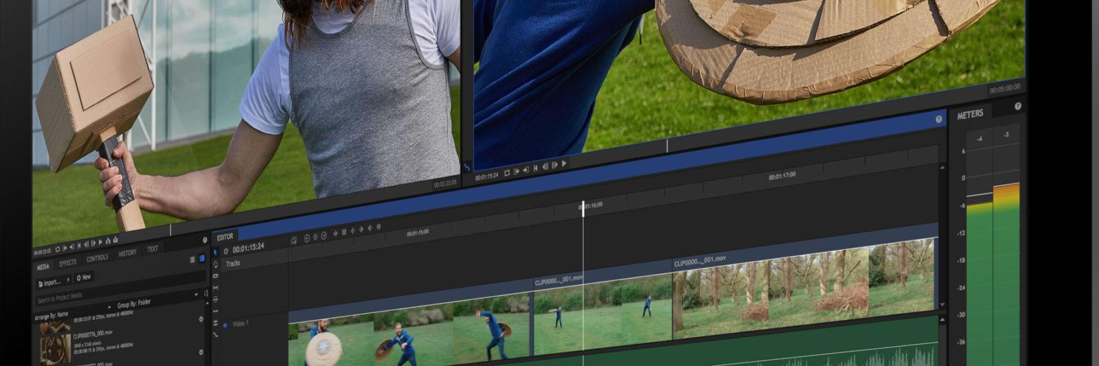 Hitfilm, software de edición y composición de vídeo