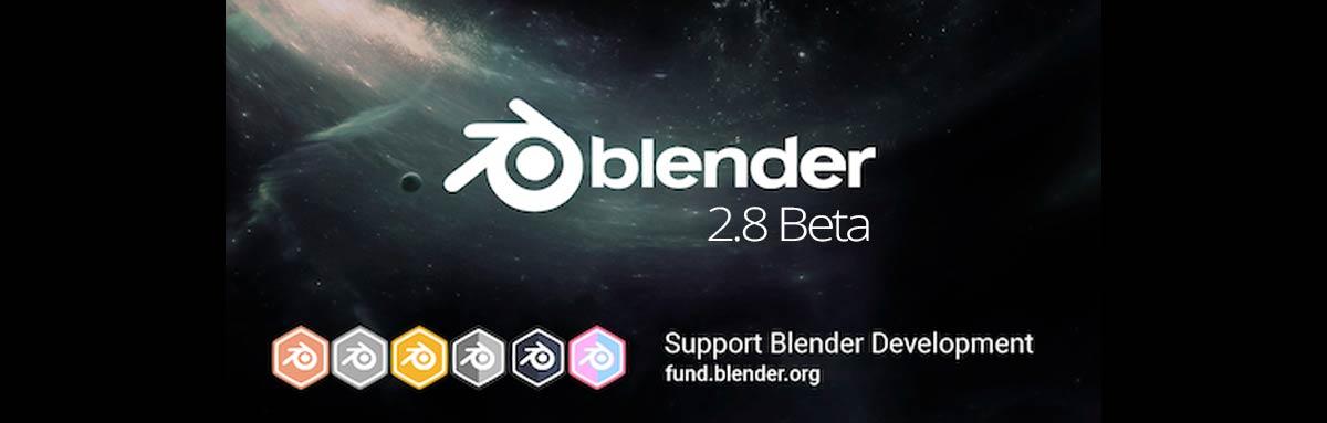 Blender 2.8 Beta, primeras impresiones
